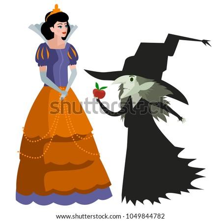 classic tale princess woman