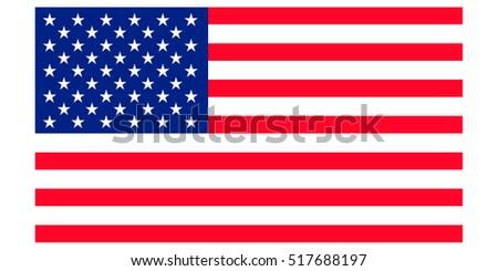 Classic USA flag.