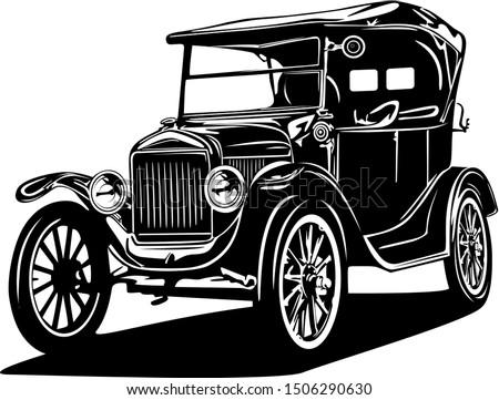 classic vintage retro car