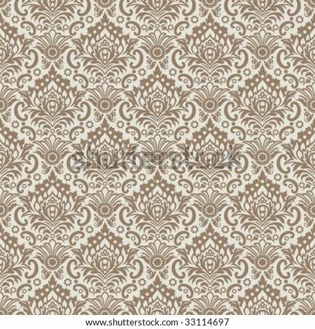 Classic Wallpaper Ornament Stock Vector 33114697 : Shutterstock