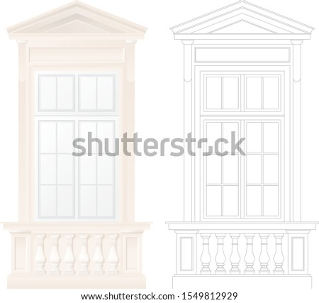 classical architecture window