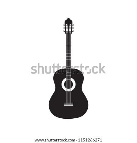 Classical  guitar vector