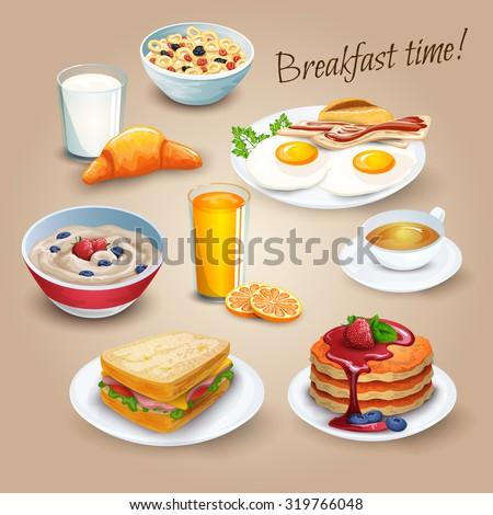 classical hotel breakfast menu