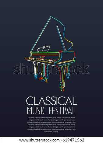 classical music event poster