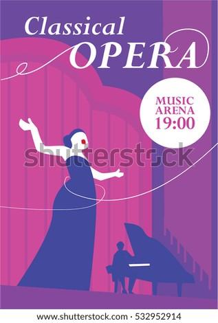 classical opera poster opera