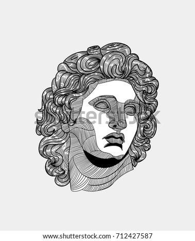 classical sculpture alexander