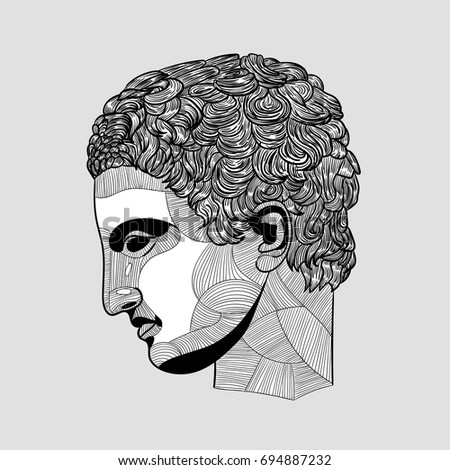 classical sculpture athlete