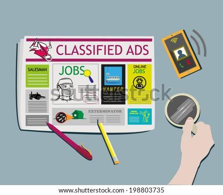 classified ads newspaper