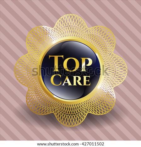 Classified golden badge