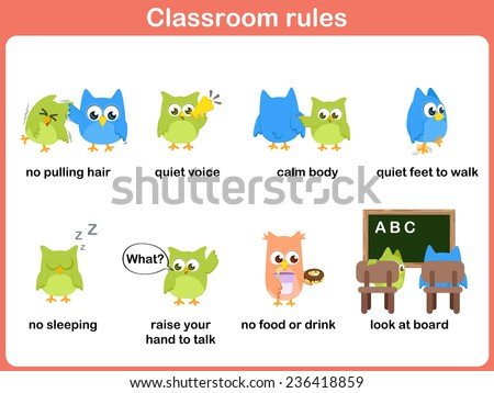 Classroom rules for kids