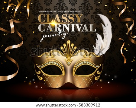 Funky Masquerade Mask Collection Download Free Vector Art Stock Beauteous Elegant Masquerade Ball Decorations