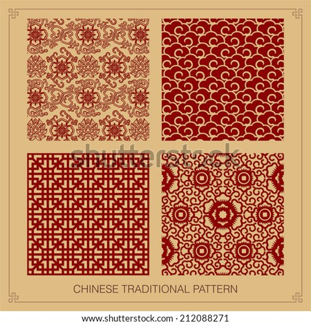 Classy oriental pattern come with layers