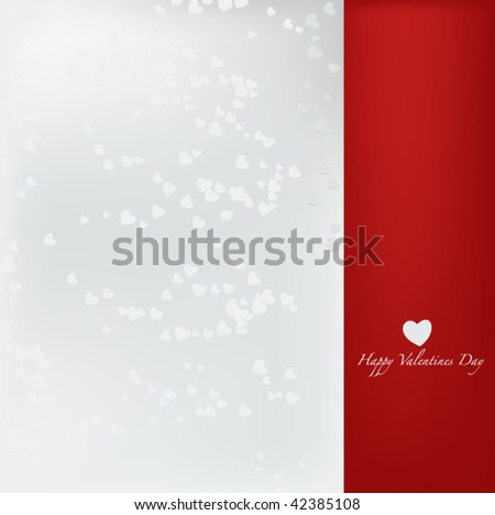Classy Valentines Day Background - vector illustration