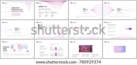stock-vector-clean-and-minimal-presentation-templates-business-infographic-brochure-cover-vector-design