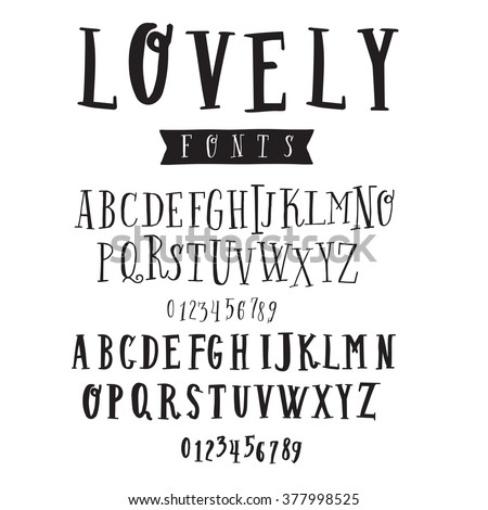 Clean hand drawn font face that is perfect for creating a handmade look on your design and website. Set of two fonts.