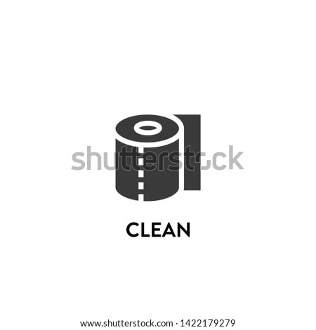 clean icon vector. clean vector graphic illustration