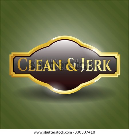 Clean & Jerk gold badge