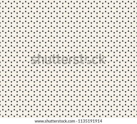 Clean Minimal Geometric Retro Seamless Pattern Background. Vector Illustration.