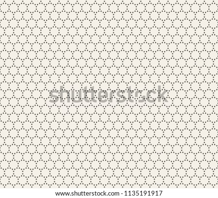 Clean Minimal Geometric Retro Seamless Pattern Background. Vector Illustration.