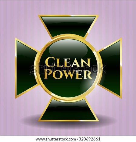 Clean Power gold badge