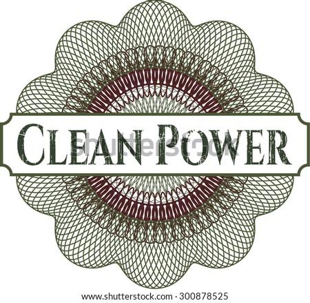 Clean Power linear rosette