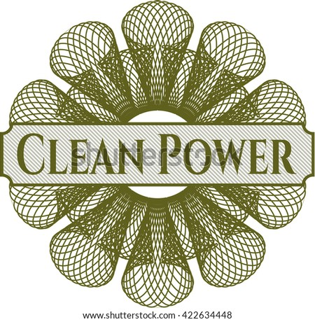 Clean Power rosette