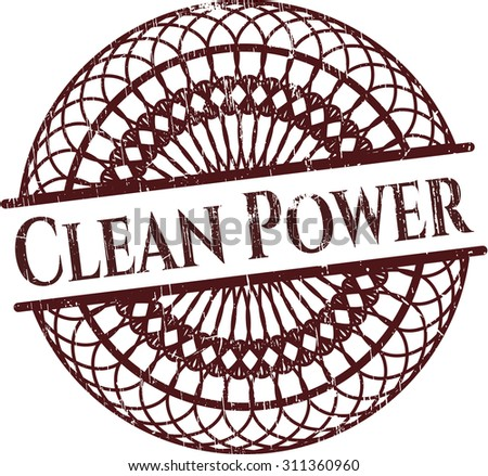 Clean Power rubber seal