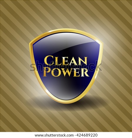 Clean Power shiny badge
