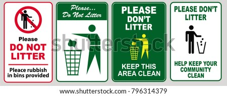 clean sticker sign for office
