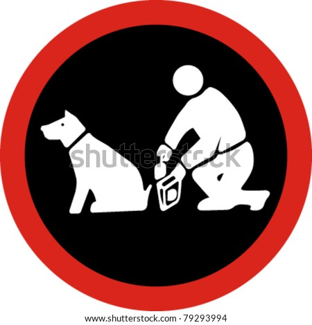 clean up after your pet in