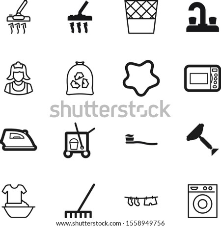 clean vector icon set such as: bathtub, nobody, bag, blob, press, rake, emblem, basin, bathroom, gardening, blue, shirt, splotch, wire, abstract, paste, shower, agriculture, oven, toothbrush