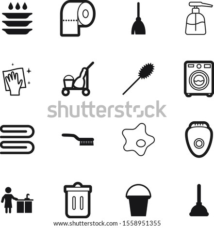 clean vector icon set such as: shower, pot, bin, skin, dispenser, floor, bucketful, recycling, plumbing, splodge, pipe, plumber, cosmetic, interior, abstract, cut, hair, splotch, stove, dishwasher