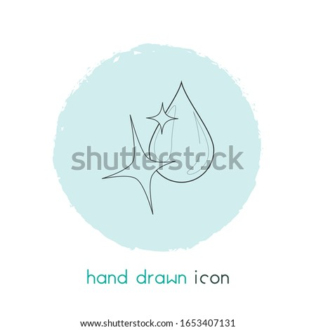 Clean water icon line element. Vector illustration of clean water icon line isolated on clean background for your web mobile app logo design.