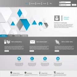 Clean Website Template