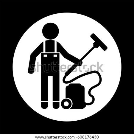 Cleaner Man icon