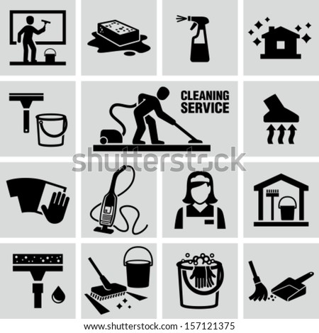 House Cleaning Icon Gallery