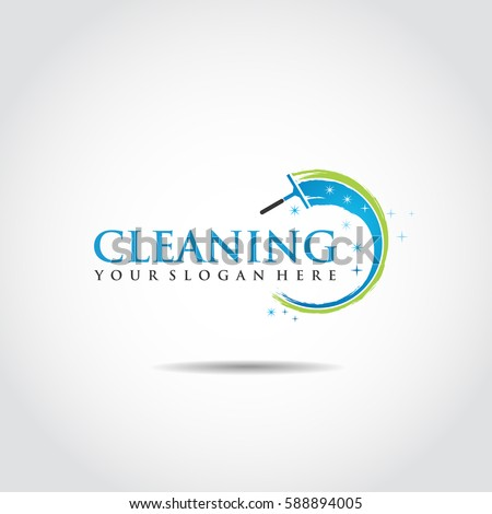 Cleaning Logo template. Vector Illustration Eps.10