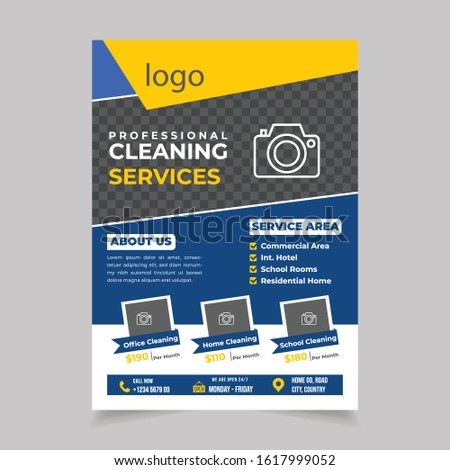 Cleaning Service Flyer Template Fully Editable, Cleaning service flyer template for personal and company purpose, Cleaning Service Flyer, Cleaning Service