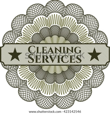 Cleaning Services linear rosette