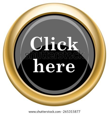 click here icon internet