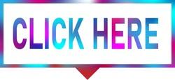 click here neon colors square price tag speech bubble
