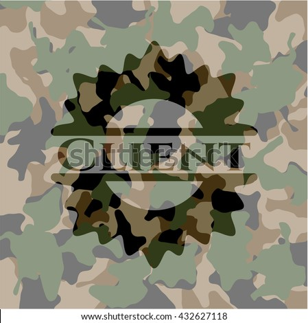 Client camo emblem