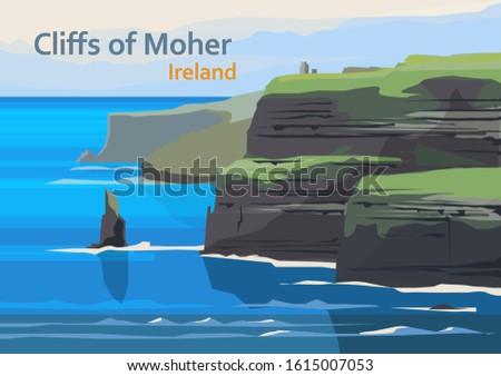 cliffs of moher  sea cliffs