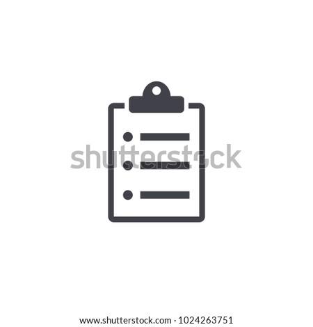 clipboard icon .eps