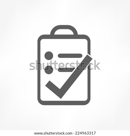 clipboard right icon