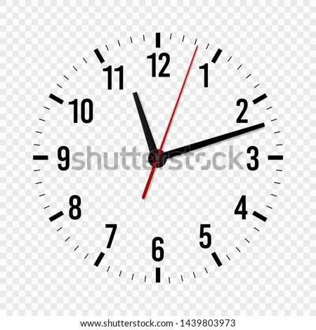 Clock Hands Template Printable
