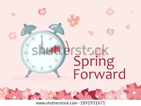clock forward in spring