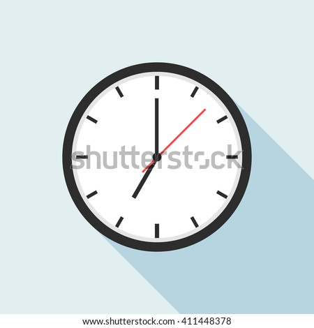 clock icon design  vector