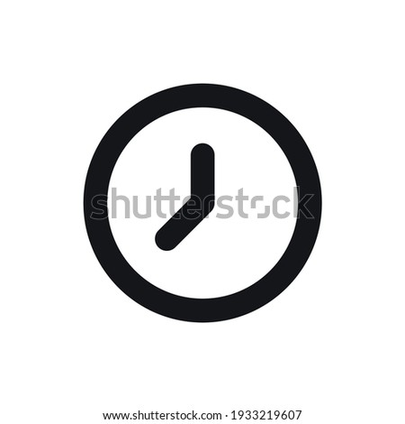 Clock icon. Watch, time icon vector illustration.