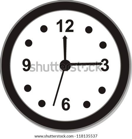 clock icons , signs, vector illustration